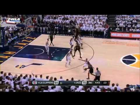 Los Angeles Clippers vs Utah Jazz NBA Playoffs 2017 Game 3 Full Game Highlights