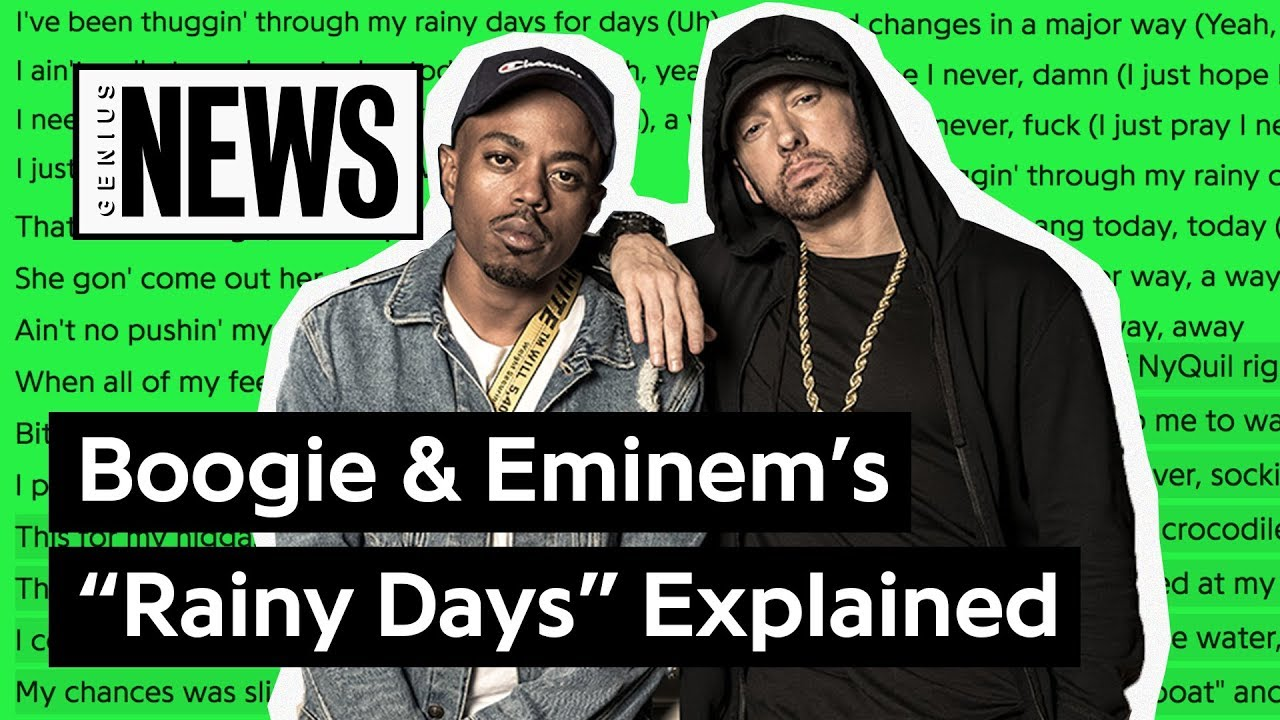 """Download Boogie & Eminem's """"Rainy Days"""" Explained 