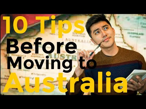 10 TIPS YOU NEED To Know BEFORE MOVING To AUSTRALIA