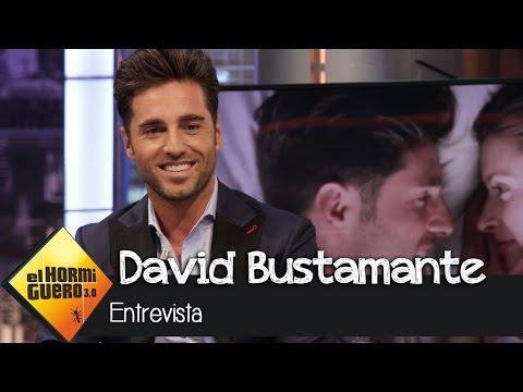 """David Bustamante en El Hormiguero 3.0: """"Mi hija me ha dicho que primaria es muy duro"""""""