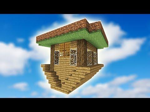 %100 BİLMEDİĞİNİZ TERS EV! - Minecraft