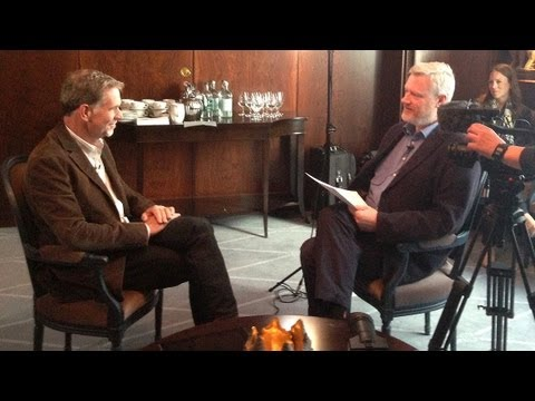 Conversation with Reed Hastings in Copenhagen, Friday the 13th of September 2013