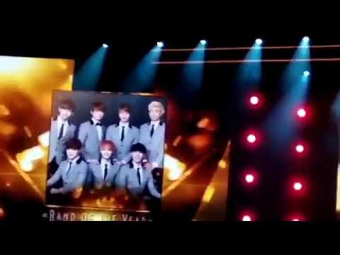 "190322 BTS Won The ""Band Of The Year"" Award @ Russia's BraVo Music Awards 2019 방탄소년단"