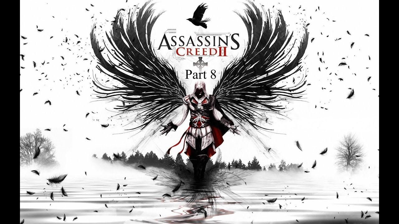 Cartoon Characters 8 Letters : Assassins creed ii walkthrough part 8: letter from papa francesco