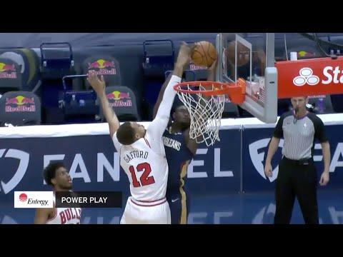 Zion Williamson Throws Down Unbelievable Dunk Against Chicago Bulls