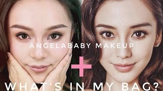 Video Angelababy仿妆 + 包里都有啥What's in my bag | CrystalGO download MP3, 3GP, MP4, WEBM, AVI, FLV Desember 2017
