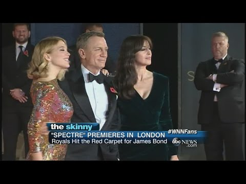 """Spectre"" Premieres In London 