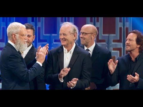 Best of Letterman's Mark Twain Prize (Norm, Bill Murray, Dave, Eddie Vedder)