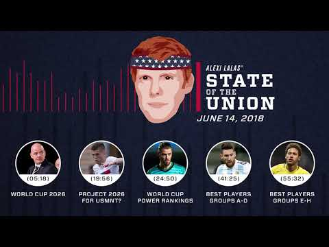 U.S. lands World Cup 2026 + Power Rankings | EPISODE 19 | ALEXI LALAS' STATE OF THE UNION PODCAST