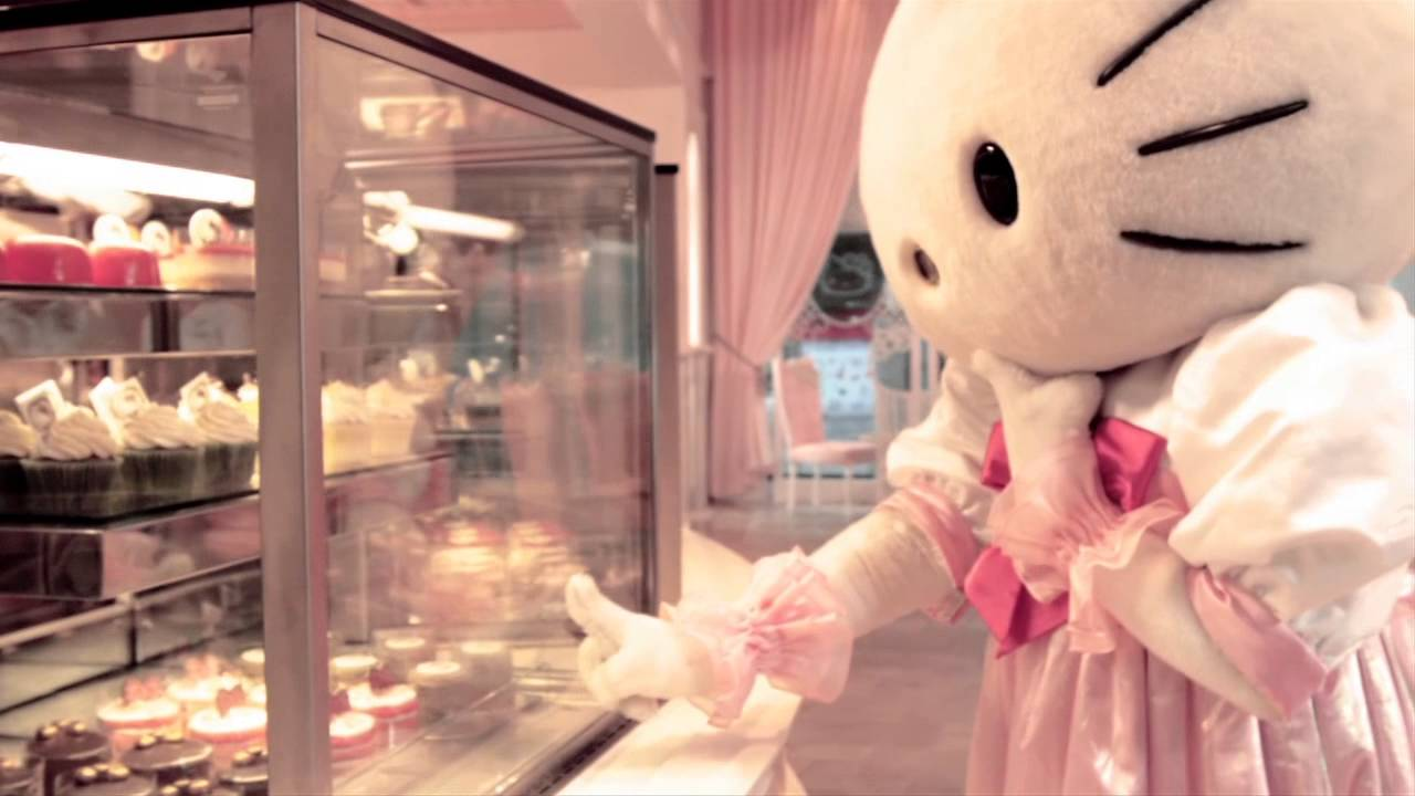 Hello Kitty House sanrio hello kitty house bangkok - youtube