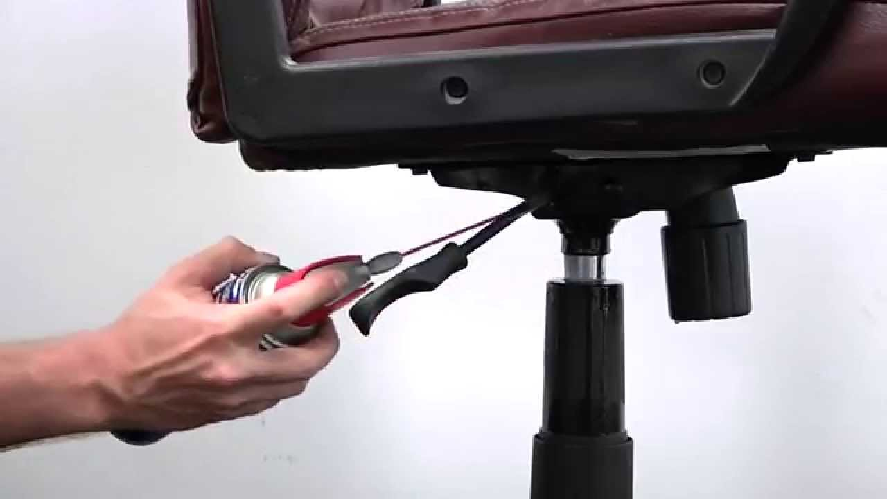 wd-40® multi-use product lubricates office chairs - youtube