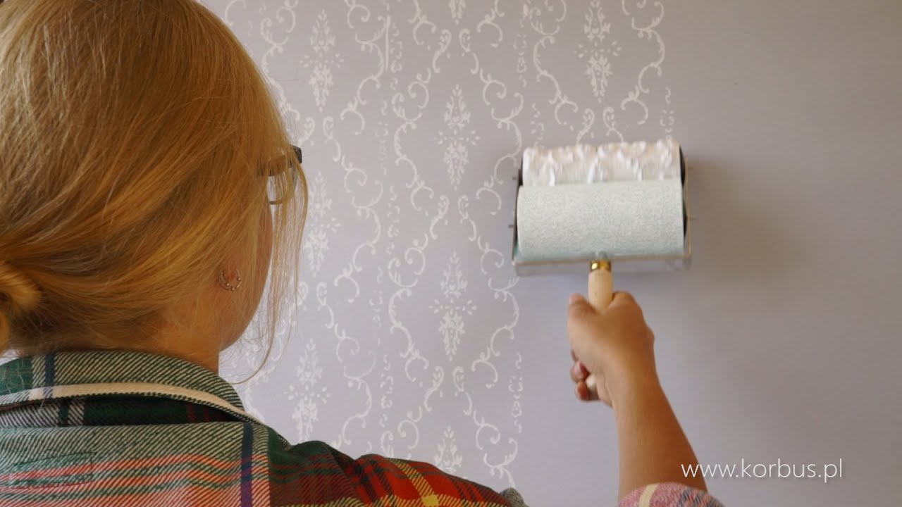 Jak Malować Wałkiem Pattern Rollers