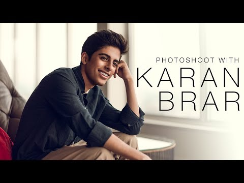 Photoshoot with Karan Brar