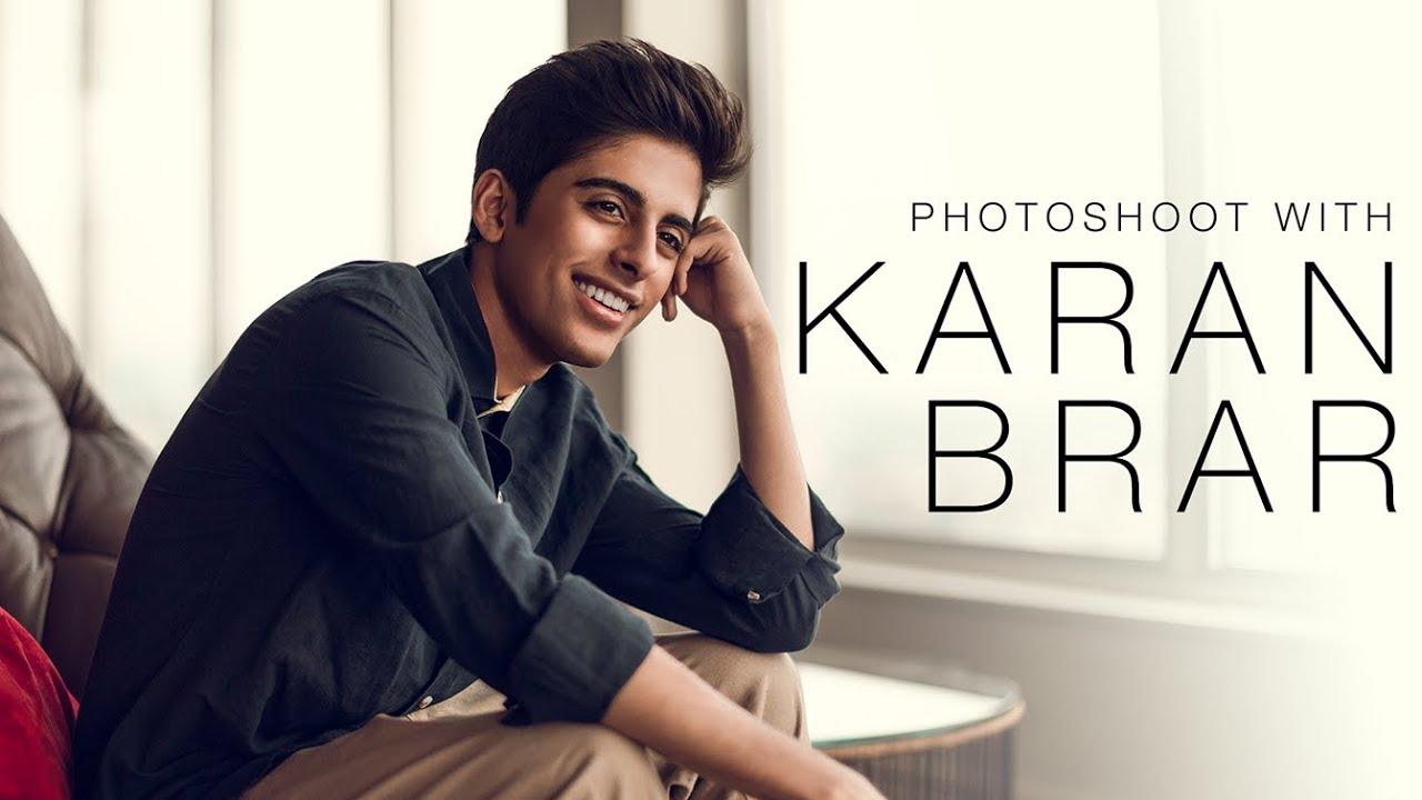 Photoshoot with Karan Brar - YouTube