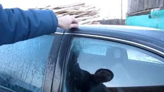 Семья Бровченко. Что делать, если  случайно закрыл ключи в автомобиле.