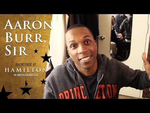 Episode 2 - Aaron Burr, Sir: Backstage at Broadway's HAMILTON with Leslie Odom Jr.