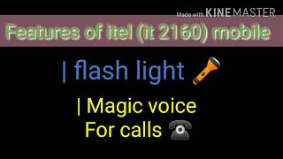How to record call in itel | Itel Magic voice | Flash notification Itel 2160 | Itel All features