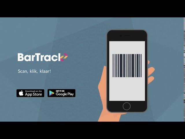 Hoe werkt de BarTrack Scan App?