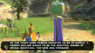 Banjo Kazooie: Nuts and Bolts ending