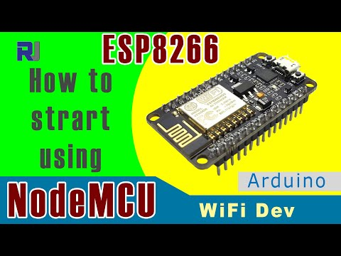 Introduction to NodeMCU ESP8266 WiFi Development board with HTTP Client  example- Robojax