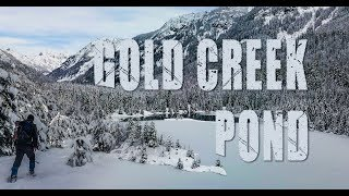 Gold Creek Pond Washington   December 2017