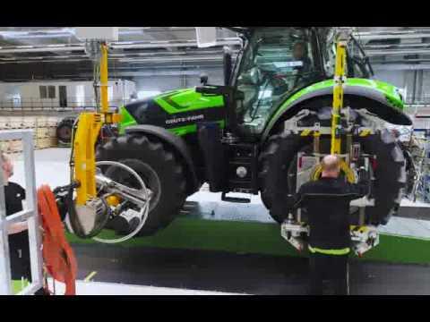Deutz Fahr Land - Nuova fabbrica DF Lauingen