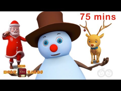 Top 25 Christmas Carols | Christmas Songs For Kids and Children | Holy Tale Bible Songs