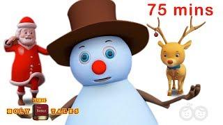 Top 25 Christmas Carols   Christmas Songs   Bible Songs For Kids and Children with Lyrics