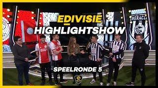 HIGHLIGHTSHOW | SPEELRONDE 5 | eDivisie 2019-2020 FIFA20