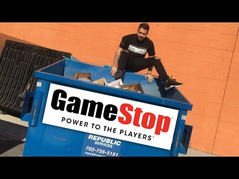 THIS IS WHY YOU SHOULD NEVER GAMESTOP DUMPSTER DIVE