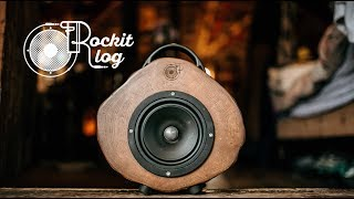 Rockit Log Speakers
