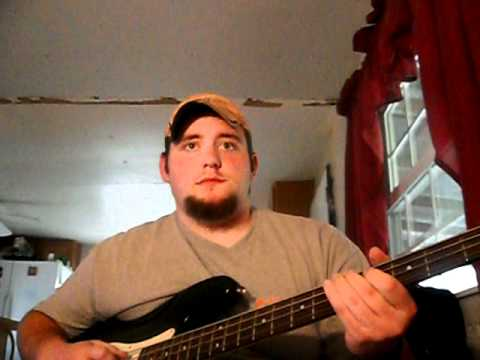 Waylon Jennings Good Hearted Woman Bass Cover