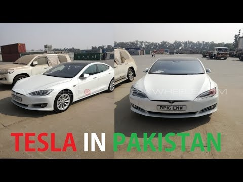 The First Tesla in Pakistan has Landed and It's a Beauty