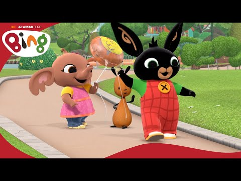 Króliczek Bing-bajka edukacyjna dla dzieci - Balon