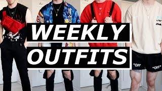 WEEKLY OUTFITS | Balenciaga, Off-White, ASOS, Heliot Emil, Vans, Prada | Gallucks
