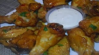 How to cook Bourbon Chicken Wings