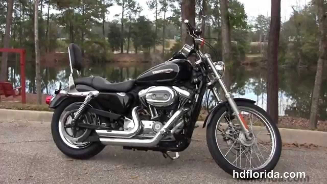 used 2008 harley davidson sportster 1200 custom motorcycles for sale