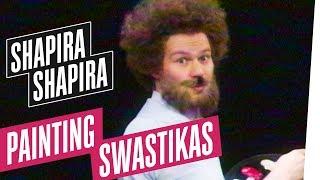 The Joy of Painting Swastikas with Bernd Ross | Shapira Shapira