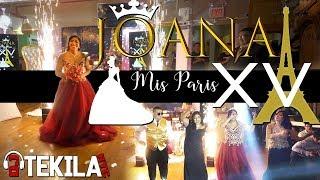 JOANA PARIS QUINCEANERA 4K BAILE SOPRESA Con PAPA MAMA HERMANA DJ TEKILA NYC CRAZY LIT
