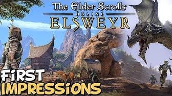 "Elder Scrolls Online (ESO) 2019 Elsweyr First Impressions ""Is It Worth Playing?"""