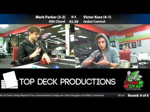SCG Modern IQ 11/26/16: Mark Parker (Kiki Chord) vs Victor Kurz (Jeskai Control)