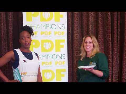 Pies for Parkinson's with PDF Staff   Valerie Holt