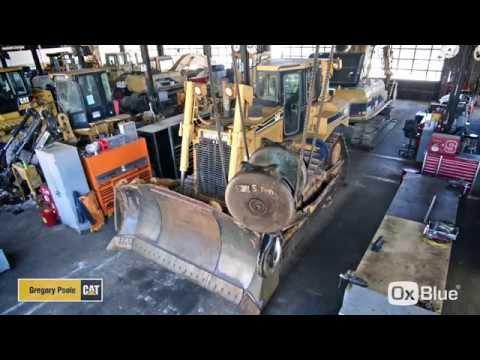 Cat D8R2 Dozer Rebuild Timelapse