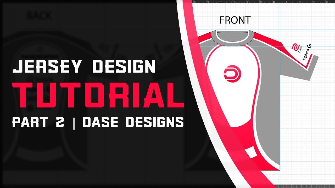 timeless design 1098f 973a5 eSports Jersey Design Part 2 | Adobe Illustrator Tutorial