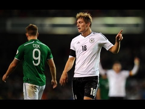 AWESOME Toni Kroos goal as Germany destroy Ireland in World Cup qualifier