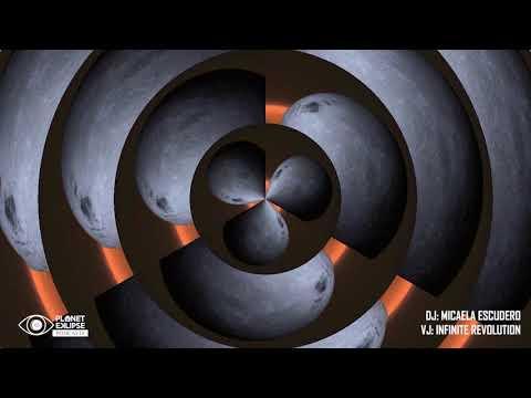 Planet Eklipse | AudioVisual Techno Podcast #09 | Micaela Escudero / Infinite Revolution