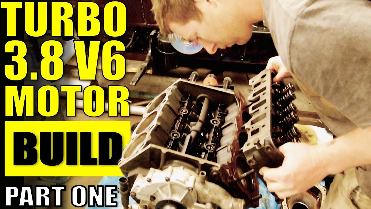 HOW TO BUILD A 3800 L27 FOR BOOST - PART 1 - VR V6 TURBO COMMODORE