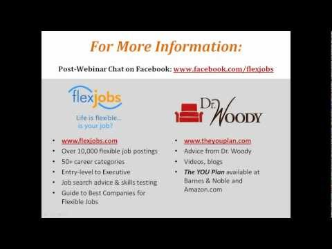 Take Charge of Your Career with Flexible Work by FlexJobs & Dr. Woody
