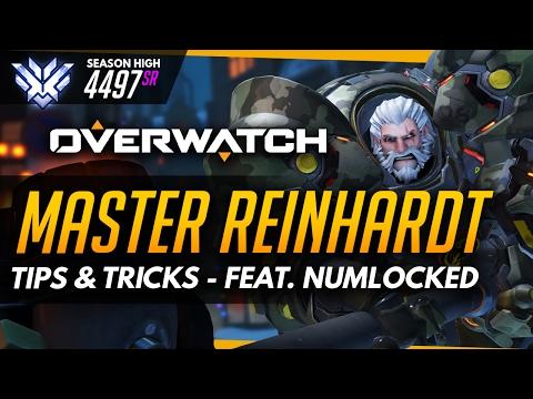 Overwatch | Master Reinhardt - Tips and Tricks (ft NRG Numlocked)