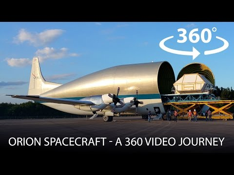 Orion Spacecraft - A 360º Video Journey